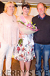 CROWNING GLORY:  Winner of the 2016 Queen of the Sneem Summer Festival Elaine Murphy from Moularostig pictured with her happy parents Brid and Michael