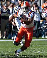 Syracuse running back Averin Collier. The Pittsburgh Panthers defeated the Syracuse Orange 37-10 at Heinz Field, Pittsburgh Pennsylvania on November 7, 2009..