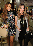 Gema Banks and Lilian Rendon at a Dress for Dinner event featuring shoe designer Edgardo Osorio at Saks Fifth Avenue Wednesday Oct. 28, 2015.(Dave Rossman photo)
