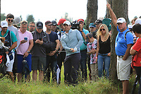 Rory McIlroy (NIR) in the rough on the 12th during Round 3 of the Aberdeen Standard Investments Scottish Open 2019 at The Renaissance Club, North Berwick, Scotland on Saturday 13th July 2019.<br /> Picture:  Thos Caffrey / Golffile<br /> <br /> All photos usage must carry mandatory copyright credit (© Golffile | Thos Caffrey)