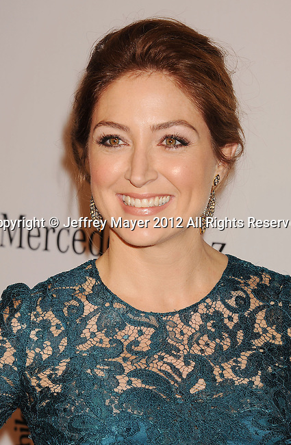 BEVERLY HILLS, CA - OCTOBER 20: Sasha Alexander arrives at the 26th Anniversary Carousel Of Hope Ball presented by Mercedes-Benz at The Beverly Hilton Hotel on October 20, 2012 in Beverly Hills, California.