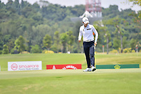 SINGAPORE - MARCH 03: Sung Hyun Park of South Korea reaction on the 16th green during the final round of the HSBC Women's World Championship 2019 at Sentosa Golf Club - Tanjong Course, Singapore on March 03, 2019.<br /> .<br /> .<br /> .<br /> (Photo by: Naratip Golf Srisupab/SEALs Sports Images)<br /> .<br /> Any image use must include a mandatory credit line adjacent to the content which should read: Naratip Golf Srisupab/SEALs Sports Images