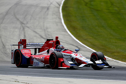 Verizon IndyCar Series<br /> Kohler Grand Prix<br /> Road America, Elkhart Lake, WI USA<br /> Sunday 25 June 2017<br /> Marco Andretti, Andretti Autosport with Yarrow Honda<br /> World Copyright: Phillip Abbott<br /> LAT Images<br /> ref: Digital Image abbott_elkhart_0617_7508
