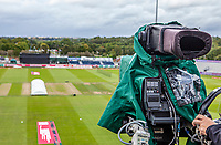 TV camera ready for the match prior to  Lancashire Lightning vs Essex Eagles, Vitality Blast T20 Cricket at the Emirates Riverside on 4th September 2019