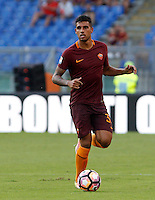 Calcio, Serie A: Roma vs Udinese. Roma, stadio Olimpico, 20 agosto 2016.<br /> Roma&rsquo;s Emerson Palmieri in action during the Italian Serie A football match between Roma and Udinese at Rome's Olympic Stadium, 20 August 2016. Roma won 4-0.<br /> UPDATE IMAGES PRESS/Riccardo De Luca
