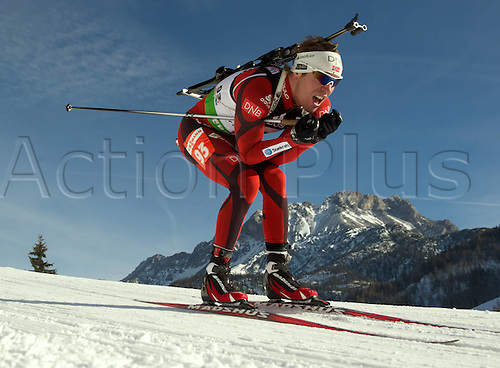 09.12.2011, Hochfilzen, Austria. The IBU Biathlon men's 10km Sprint Svendsen Emil Hegle NOR Biathlon World Cup