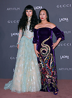 Asia Chow &amp; Eva Chow at the 2017 LACMA Art+Film Gala at the Los Angeles County Museum of Art, Los Angeles, USA 04 Nov. 2017<br /> Picture: Paul Smith/Featureflash/SilverHub 0208 004 5359 sales@silverhubmedia.com