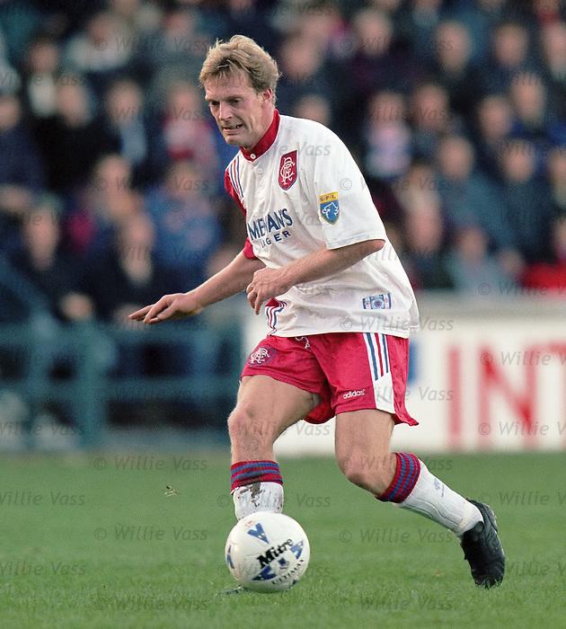 Peter Van Vossen, Rangers