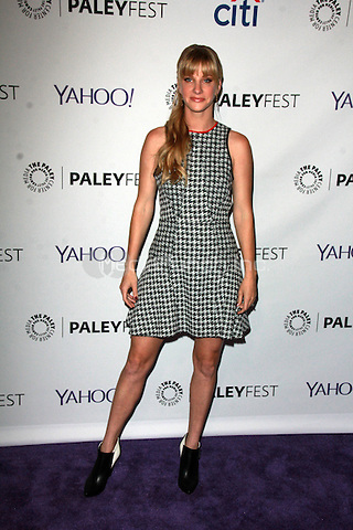 HOLLYWOOD, CA - March 13: Heather Morris at The Paley Center For Media's 32nd Annual PALEYFEST LA presents Glee in Hollywood, California on March 13, 2015. Credit: David Edwards/DailyCeleb/MediaPunch