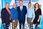 The business panel at the Bank of Ireland Enterprise Town event in Cahersiveen on Friday pictured l-r; Liam Quinlan, Colm Healy, Dáithí O'Sé, Declan Sugrue & Deirdre Garvey.