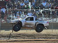 Apr 16, 2011; Surprise, AZ USA; LOORRS driver Jesse Johnson (15) during round 3 at Speedworld Off Road Park. Mandatory Credit: Mark J. Rebilas-.