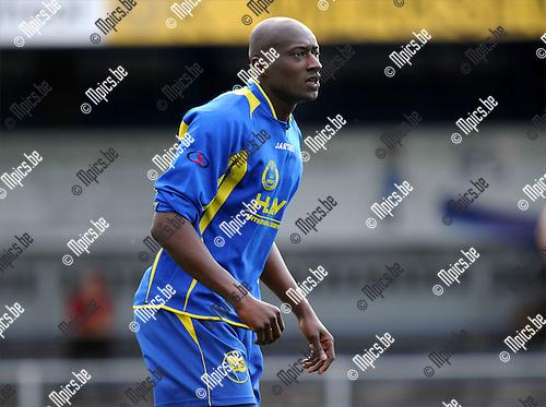 2011-07-27 / Voetbal / seizoen 2011-2012 / SC Merksem / Demba Abdoulai..Foto: mpics