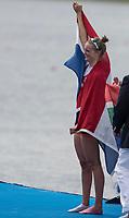 Sarasota. Florida USA.  NED LW1X.Marieke  KEIJSER, Silver Medalist Final A 2017 World Rowing Championships, Nathan Benderson Park<br /> <br /> Friday  29.09.17   <br /> <br /> [Mandatory Credit. Peter SPURRIER/Intersport Images].<br /> <br /> <br /> NIKON CORPORATION -  NIKON D500  lens  VR 500mm f/4G IF-ED mm. 200 ISO 1/1250/sec. f 5.6