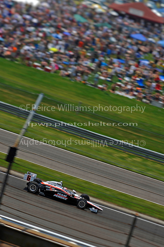 Ryan Briscoe (#6)..(NOTE: Image capture with a tilt/shift lens)