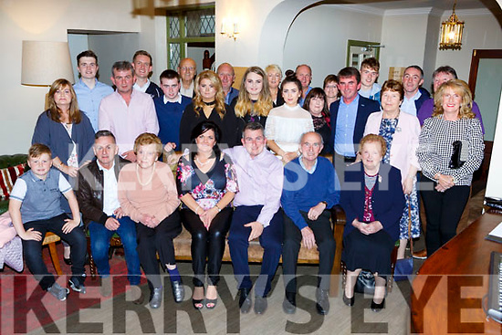 Michael O'Sullivan, Lissivigeen Killarney celebrated his 50th birthday in the Torc Hotel with his friends and family on Saturday night