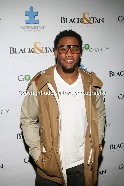 TJ Ward ATTENDS NFL LEGENDS JOE MONTANA & DWIGHT CLARK HONORED AT THE CATCH SUPER BOWL  VIEWING PARTY HELD AT THE EDISON BALL ROOM, NY