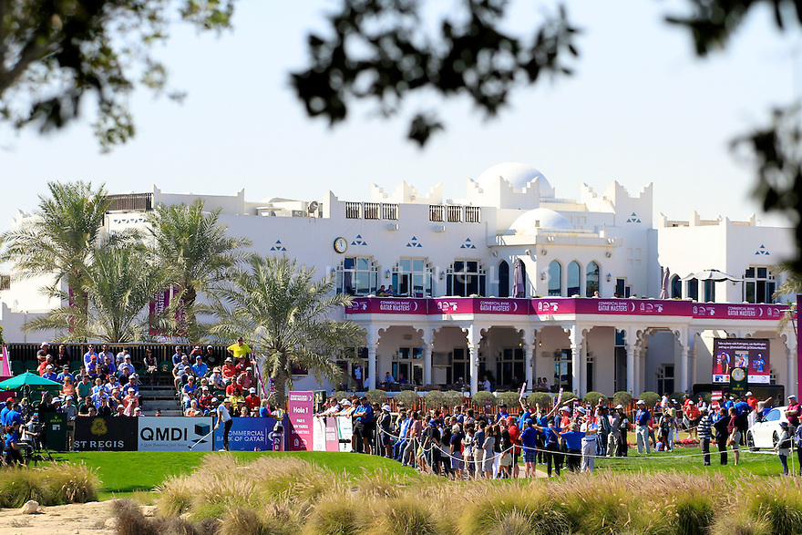 Alejandro Canizares (ESP) in action during the final round of the Commercial Bank Qatar Masters played at Doha Golf Club, Doha, Qatar. 21-24 January 2015 (Picture Credit / Phil Inglis)
