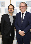 Lin-Manuel Miranda and Bartlett Sher attends the Camelot' Benefit Concert for Lincoln Center After Party at David Geffen Hall on March 4, 2019 in New York City.