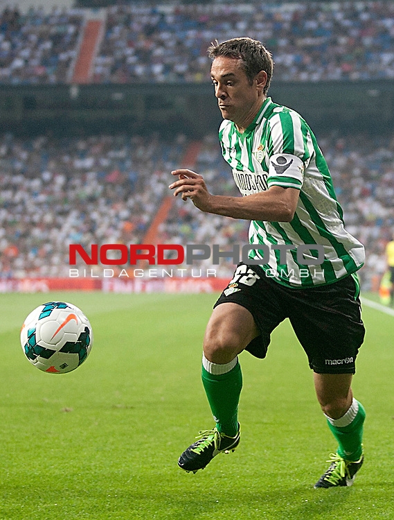 Betis' Nacho Perez during La Liga match.August 18,2013. Foto © nph / Acero)