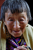 An old lady from Thimpu, Bhutan. Arindam Mukherjee..