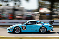 2017 Porsche GT3 Cup USA<br /> Sebring International Raceway, Sebring, FL USA<br /> Friday 17 March 2017<br /> 43, Mark Kvamme, GT3P, USA, M, 2017 Porsche 991<br /> World Copyright: Jake Galstad/LAT Images<br /> ref: Digital Image lat-galstad-SIR-0317-14694