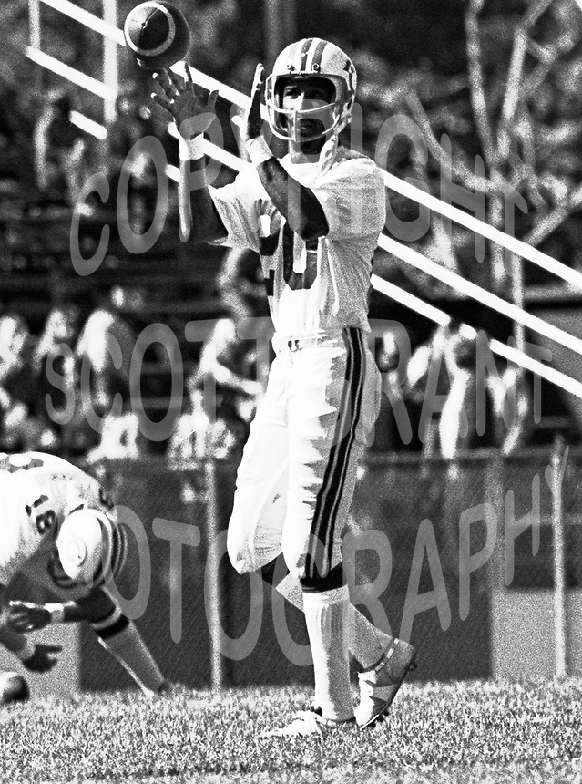Johnny Rodgers Montreal Alouettes 1973. Photo F. Scott Grant