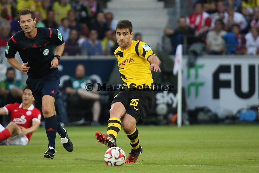 Sokratis (BVB) - 1. FSV Mainz 05 vs. Borussia Dortmund, Coface Arena
