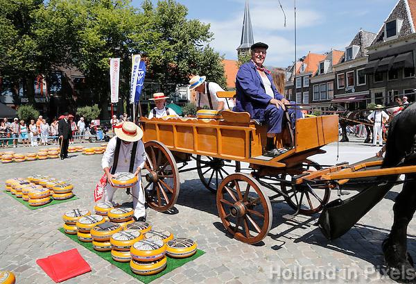 Nederland  Hoorn 2016.  Kaasmarkt in Hoorn. Foto Berlinda van Dam / Hollandse Hoogte