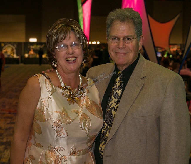 Eileen and John Edgcomb during Fantasies in Chocolate at the Grand Sierra Resort on Saturday night, November 17, 2018.