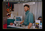 Showing-off at a trade show in Los Angeles. <br />