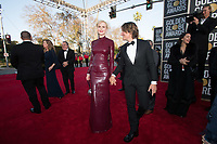 Golden Globe nominee, Nicole Kidman and Keith Urban arrive at the 76th Annual Golden Globe Awards at the Beverly Hilton in Beverly Hills, CA on Sunday, January 6, 2019.<br /> *Editorial Use Only*<br /> CAP/PLF/HFPA<br /> Image supplied by Capital Pictures