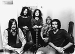 Fleetwood Mac 1968 Mick Fleetwood, Peter Green, Jeremy Spencer, Danny Kirwan and John McVie<br /> &copy; Chris Walter