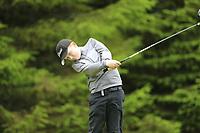 Adam O'Loughlin (Naas) during the Connacht U14 Boys Amateur Open, Ballinasloe Golf Club, Ballinasloe, Galway,  Ireland. 10/07/2019<br /> Picture: Golffile | Fran Caffrey<br /> <br /> <br /> All photo usage must carry mandatory copyright credit (© Golffile | Fran Caffrey)