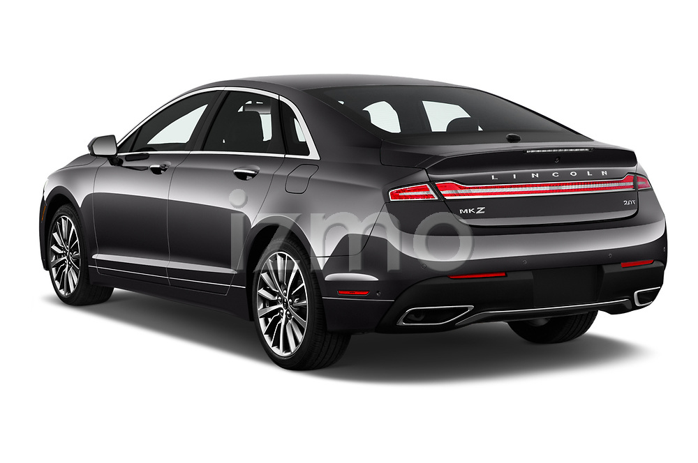 Car pictures of rear three quarter view of 2020 Lincoln MKZ Standard 4 Door Sedan Angular Rear