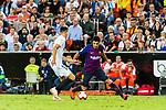 Luis Suarez of FC Barcelona (R) in action during their La Liga 2018-19 match between Valencia CF and FC Barcelona at Estadio de Mestalla on October 07 2018 in Valencia, Spain. Photo by Maria Jose Segovia Carmona / Power Sport Images