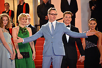 "CANNES, FRANCE. May 17, 2019: Lola Winding Refn, Liv Corfiven, Nicolas Winding Refn, Miles Teller & Keleigh Sperry at the gala premiere for ""Too Old to Die Young – North of Hollywood, West of Hell"" at the Festival de Cannes.<br /> Picture: Paul Smith / Featureflash"