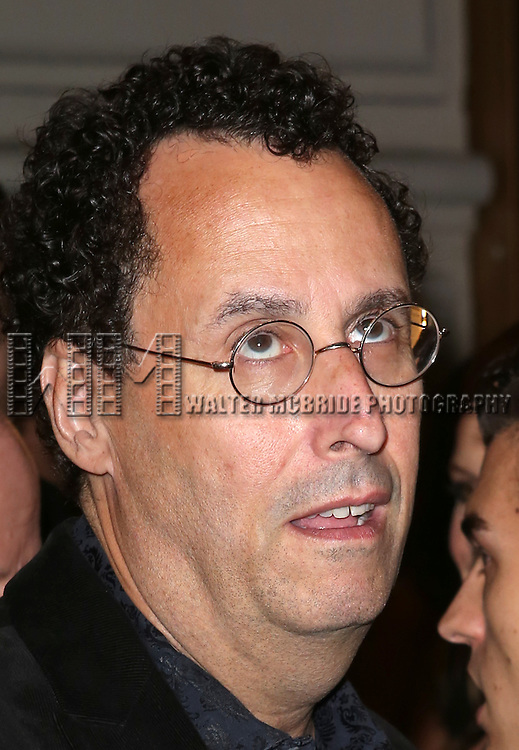 Tony Kushner  attends the Broadway Opening Night Performance of 'The Glass Menagerie' at the Booth Theatre in New York City on September 16, 2013.