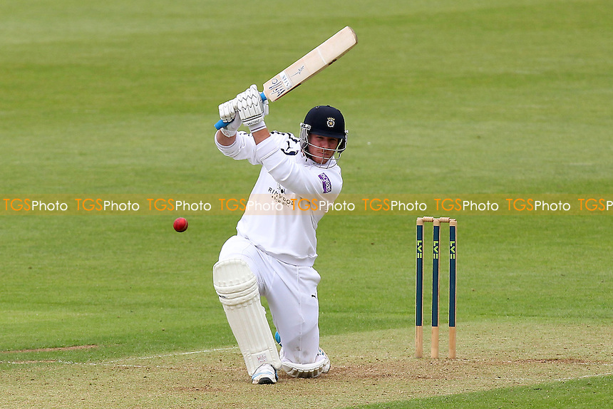 Matt Coles in batting action for Hampshire - Hampshire CCC vs Essex CCC - LV County Championship Division Two Cricket at the Ageas Bowl, West End, Southampton - 15/06/14 - MANDATORY CREDIT: Gavin Ellis/TGSPHOTO - Self billing applies where appropriate - 0845 094 6026 - contact@tgsphoto.co.uk - NO UNPAID USE