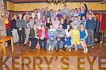 Eoin O'Mahony, Brennans Glen, Killarney, pictured with his family and friends as he celebrated his 21st birthday in the Killarney Avenue Hotel on Saturday night.........