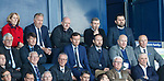Paul Hartley watches on as Falkirk cruise to victory