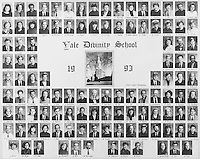 1993 Yale Divinity School Senior Portrait Class Group Photograph