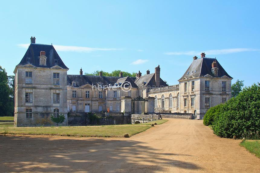 France, Cher (18), le Berry, Lignières, château du XVIIe siècle // France, Indre, Berry region, Lignieres, 17th century castle