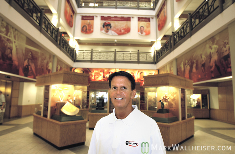 FSU Athletic Director Dave Hart inside the Moore Athletic Center July 7, 2006.
