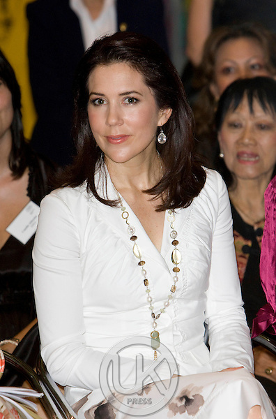 "Crown Prince Frederik & Crown Princess Mary of Denmark, on a Four Day official visit to Thailand, Crown Princess Mary visits  "" Danish Lifestyle ' Exhibition  at Central World ,Bangkok,"