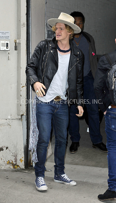 WWW.ACEPIXS.COM<br /> <br /> April 9 2015, New York City<br /> <br /> Singer Cody Simpson made an appearance at 'HuffPost Live' on April 9 2015 in New York City<br /> <br /> By Line: Curtis Means/ACE Pictures<br /> <br /> <br /> ACE Pictures, Inc.<br /> tel: 646 769 0430<br /> Email: info@acepixs.com<br /> www.acepixs.com