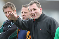 AIB Cup Final 2009. Former Hinch player Joel Callaghan enjoys the during the AIB Cup Final against Cork Constitution at Dubarry Park, Athlone. Mandatory Credit - Mandatory Credit - John Dickson