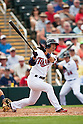 Tsuyoshi Nishioka (Twins), MARCH 8, 2012 - MLB : Tsuyoshi Nishioka of the Minnesota Twins bats during a spring training game against the Tampa Bay Rays at Hammond Stadium in Fort Myers, Florida, United States. (Photo by Thomas Anderson/AFLO) (JAPANESE NEWSPAPER OUT)