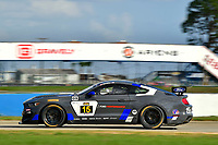 IMSA Continental Tire SportsCar Challenge<br /> Sebring February Test<br /> Sebring International Raceway, Sebring, Florida, USA<br /> Wednesday 21 February 2018<br /> #15 Multimatic Motorsports, Ford Mustang GT4, GS: Scott Maxwell, Chase Briscoe<br /> World Copyright: Richard Dole<br /> LAT Images