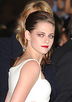 LOS ANGELES, CA - NOVEMBER 3:  Kristen Stewart at the official screening for 'On The Road' during AFI  Fest 2012 at Grauman's Chinese Theater in Los Angeles, California. November 3, 2012. Photo by:  MediaPunch Inc. .<br />