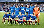 23.08.18 Rangers v Ufa: Rangers team